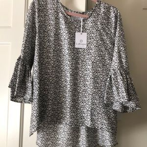 LaRoque silk top one size NWT